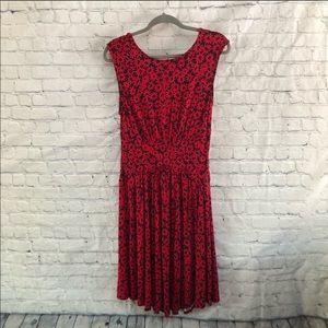 Moulinette Sœurs South Shore Red Floral Dress